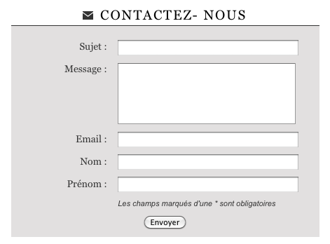 site contact Aulnay-sous-Bois