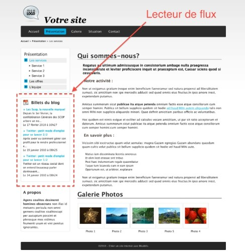 afficher un flux rss sur son site internet guide meabilis. Black Bedroom Furniture Sets. Home Design Ideas