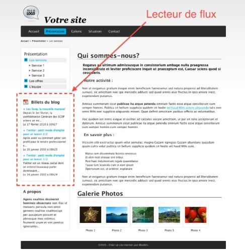 afficher un flux rss sur son site internet guide meabilis. Black Bedroom Furniture Sets. Home Design Ideas
